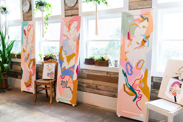 The Happy Doors Art | Meredith Steele Art
