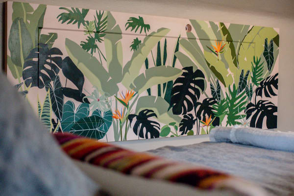 The Tropical Door Art | Meredith Steele Art