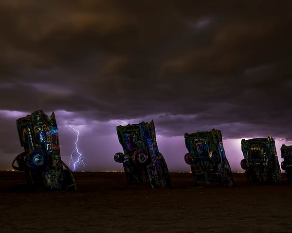 Angry Cadillacs Photography Art | Jim Livingston Art