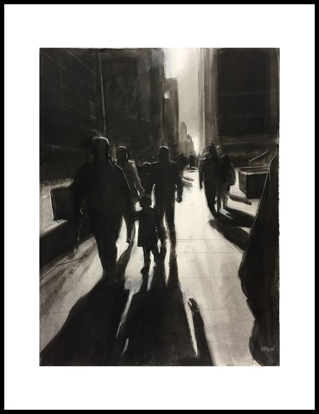 Nyc2 (From The Open Spaces Series) Art   Adam Benet Shaw Studios