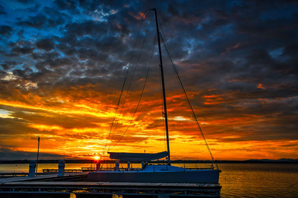 Sunrise Over Lake Champlain - New York fine-art photography prints