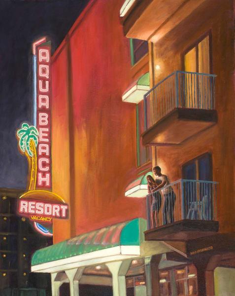 Wildwood Nights Art   The Art of David Arsenault