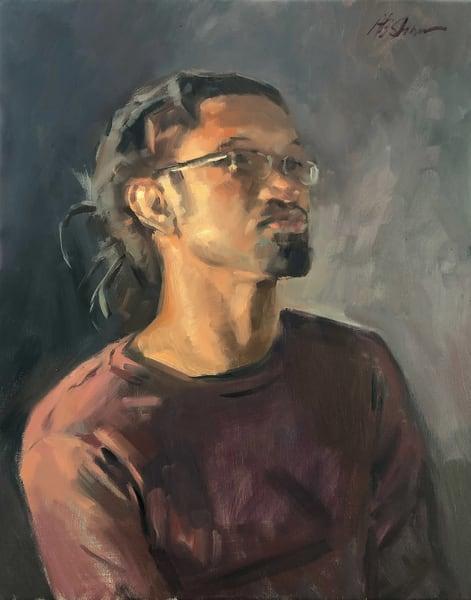 Lewis I (Portraits From Life Series) Art | Adam Benet Shaw Studios
