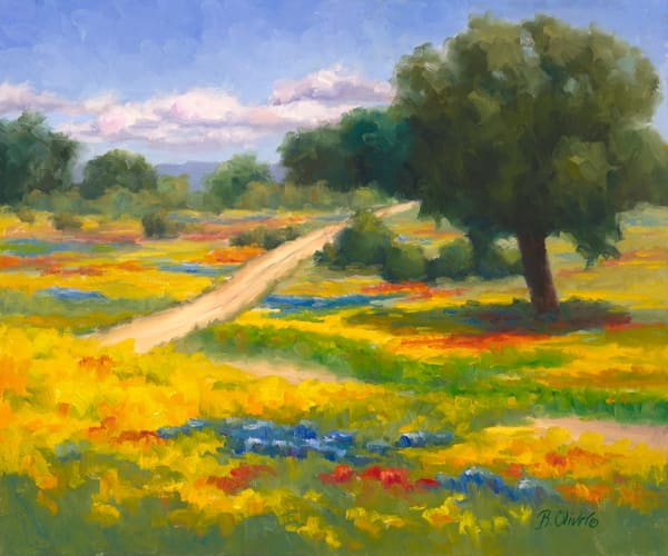 Patches Of Springtime Art | B. Oliver, Art