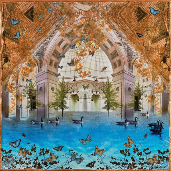 Columbary Ii Art | Sondra Wampler | fine art