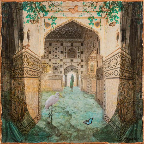I Remember India No 3 Art | Sondra Wampler | fine art