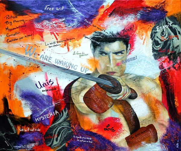 We Are One (Reserved) Art | Nathalie Marino
