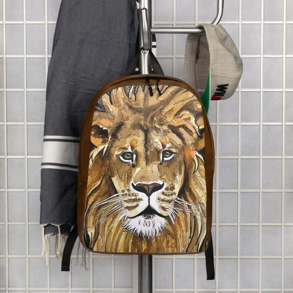 Lion Minimal Backpack | Water+Ink Studios
