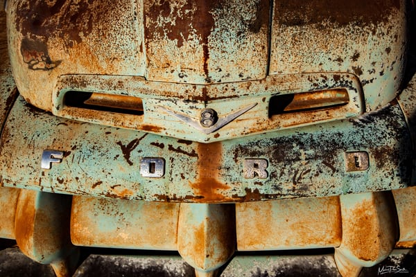 Ford Wide V8 Photography Art | Michael Penn Smith - Vision Worker