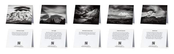 Set Of 5 Mount Rainier Notecards | Troy Mason Photography