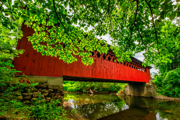 Silk Road Covered Bridge - Vermont fine-art photography prints