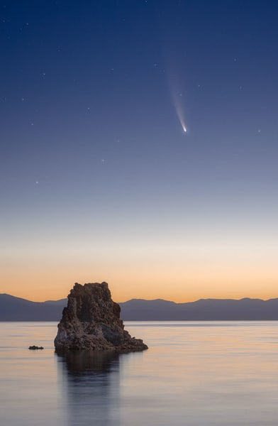 Comet Neowise Photography Art | Charlotte Gibb Photography