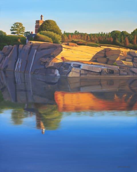 Quarry Twilight Art | The Art of David Arsenault