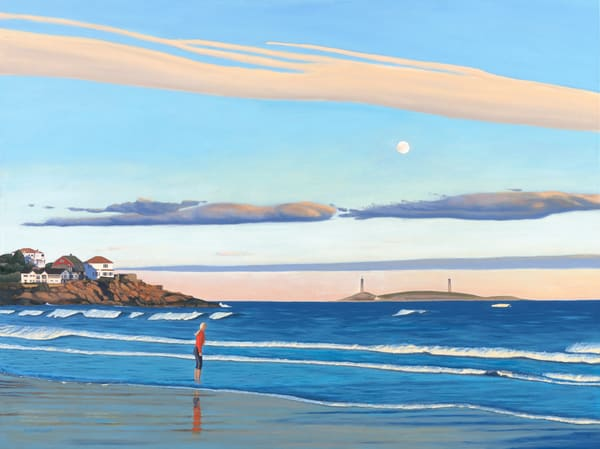 October At Good Harbor Art | The Art of David Arsenault
