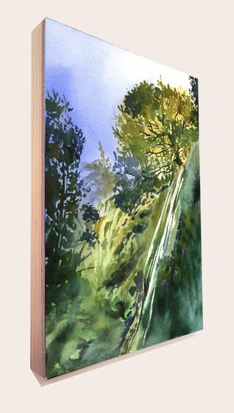 Rose Falls 1 Art | Machalarts Watercolor Studio