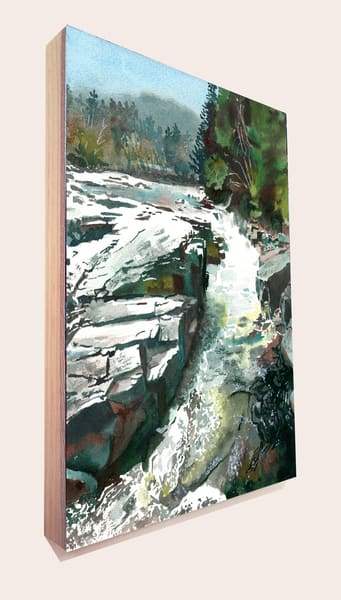 Rocky Gorge 2 Art | Machalarts Watercolor Studio