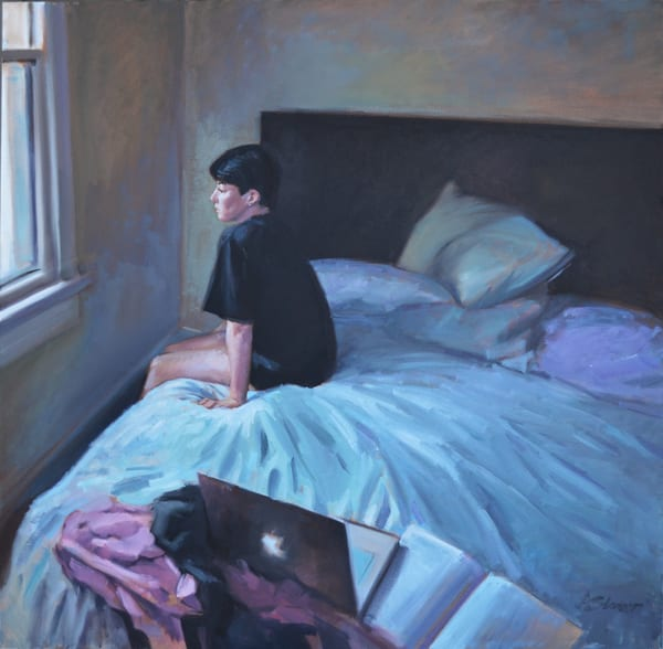 Wednesday (From The Elise And Melancholy Series) Art | Adam Benet Shaw Studios