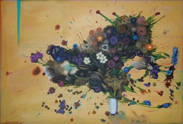 Exploding Floral Art   Scheihagen Art