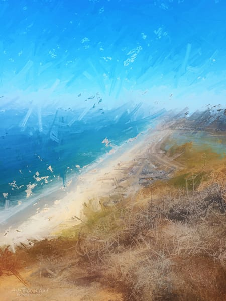 """Guy Fleming Trail Facing North"" - Digital Painting Photograph"
