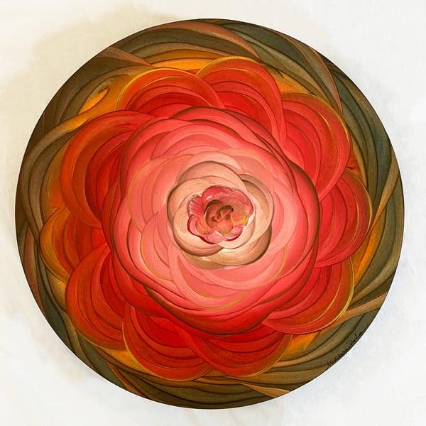 Floral Mandala 1 - Original