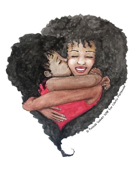 Nurturing Mother 02 Art | Priscila Soares - MyLuckyEars