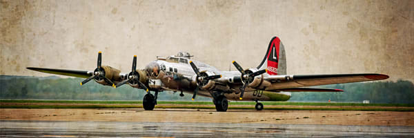 Flying Fortress Panorama Photography Art | Ken Smith Gallery
