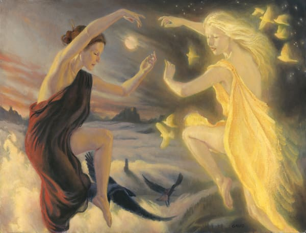 The Dance Of The Earth Night And Sunna Art | Studio Girard