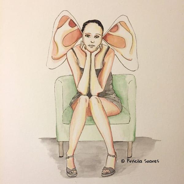 You're Not Alone Art | Priscila Soares - MyLuckyEars