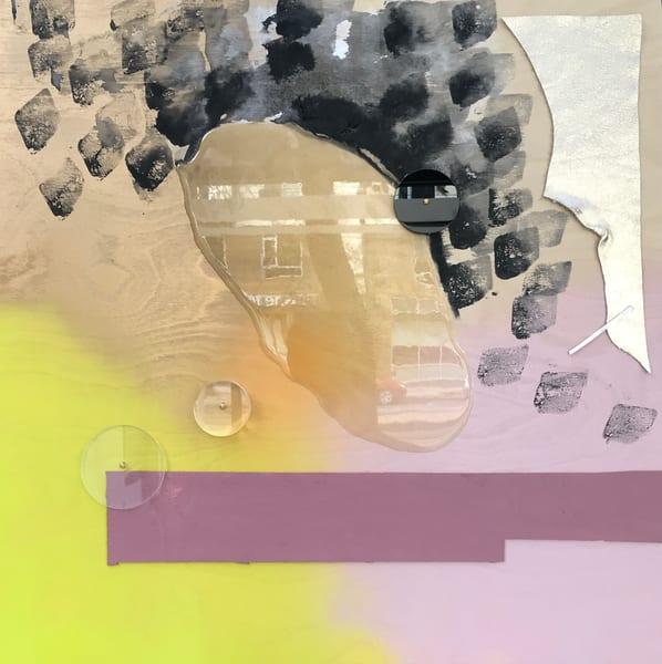 Neon Orchid Art | Makiko Harris Art