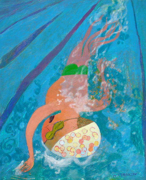 Lap Swimmer Art | Fountainhead Gallery