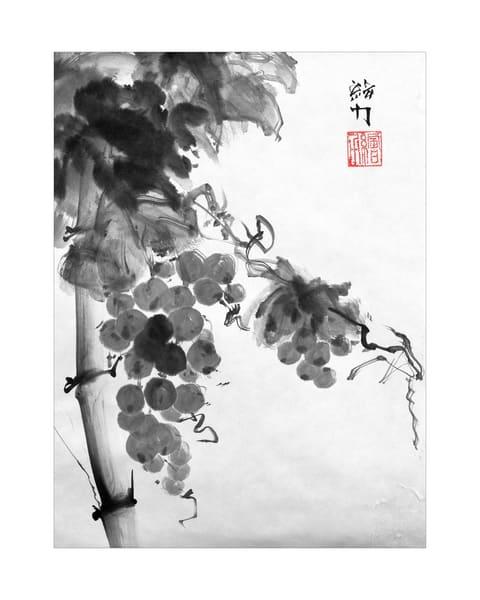 Grapes One (Premium Print) Art | HombretheArtist