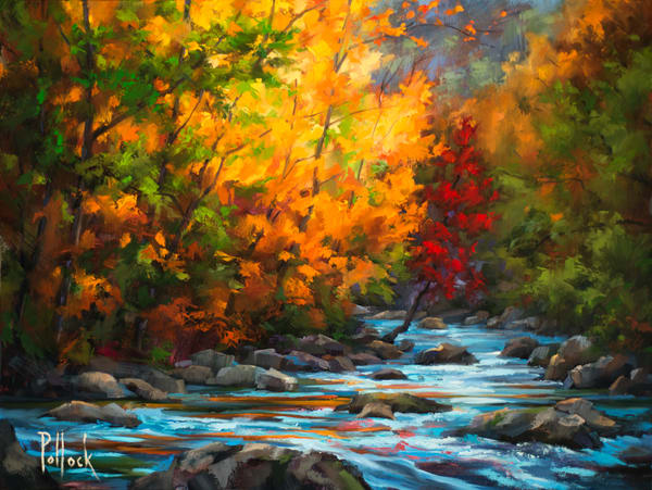 Autumn Blaze fine art print | Sarah Pollock Studio