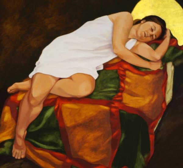 Reclining Woman Art | Helen Vaughn Fine Art