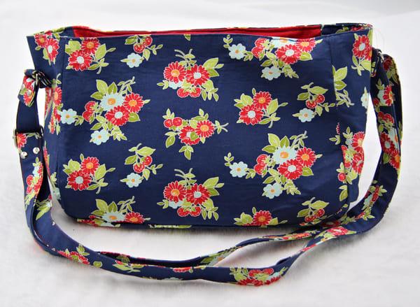 Handmade Cloth Womens Shoulder Purse Handbag