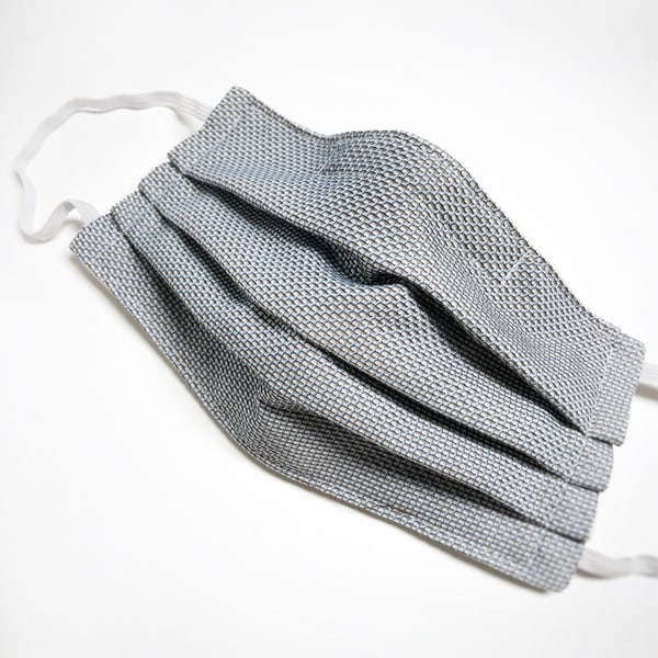 Cloth Mask: Checkered Delight (Elastic Or  Ties) Art | Youngi-Sumistyle pets
