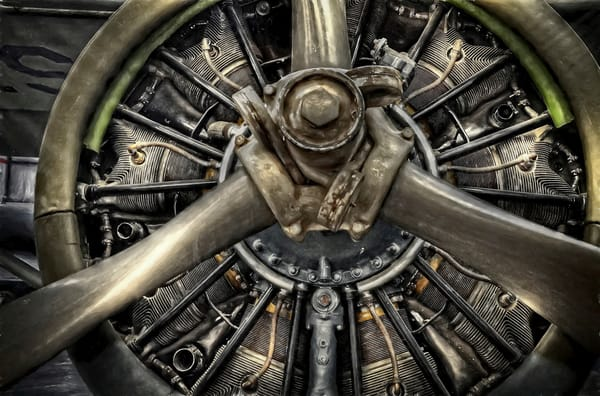 Army Airplane Engine Photography Art | Ken Smith Gallery