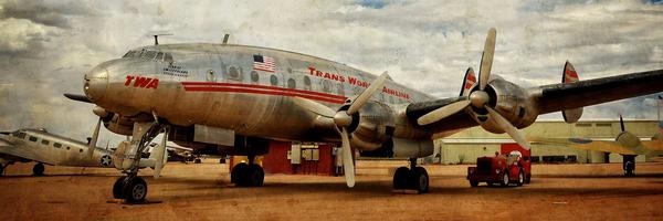 Lockheed Constellation Panorama Photography Art | Ken Smith Gallery