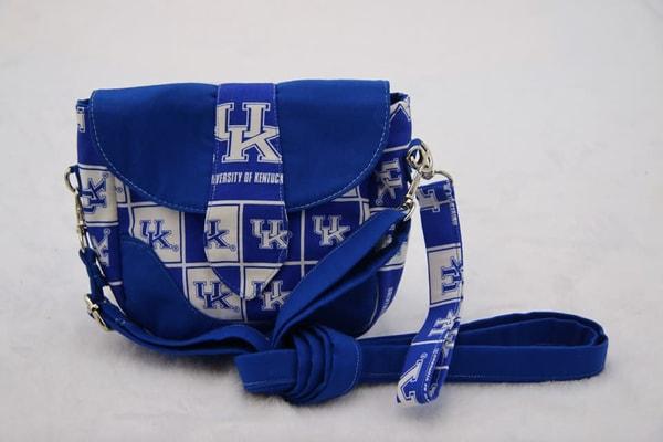 Handmade Small Handbag Shoulder Purse University of Kentucky
