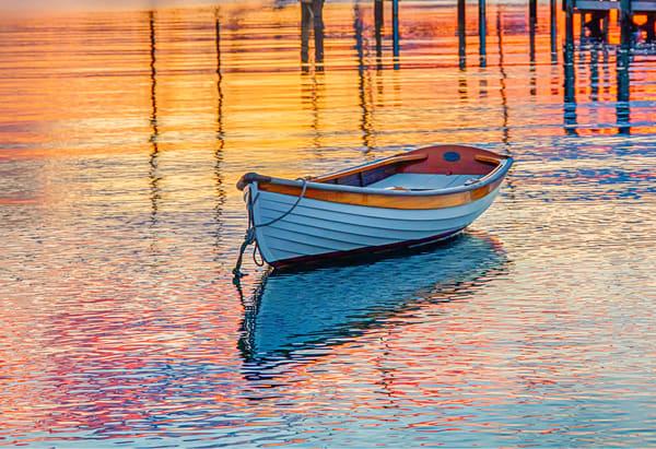 Harbor Boat Reflections Art | Michael Blanchard Inspirational Photography - Crossroads Gallery