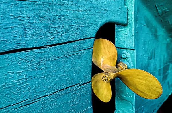 Vineyard Haven Golden Propella Art | Michael Blanchard Inspirational Photography - Crossroads Gallery