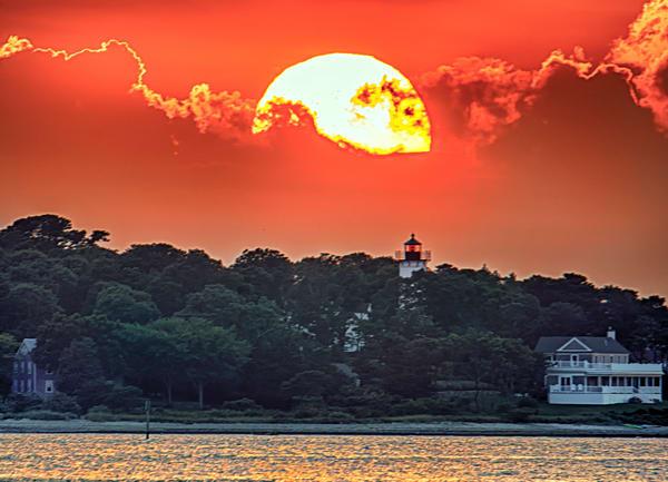 West Chop Light Summer Sun Art | Michael Blanchard Inspirational Photography - Crossroads Gallery