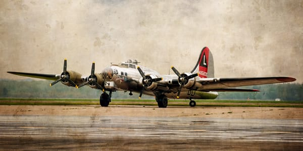 Flying Fortress Semi Panorama Photography Art | Ken Smith Gallery