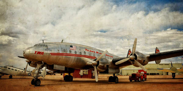 Lockheed Constellation Semi Panorama Photography Art | Ken Smith Gallery
