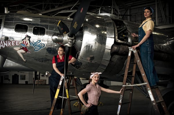 Rosie The Riveters Photography Art | Ken Smith Gallery