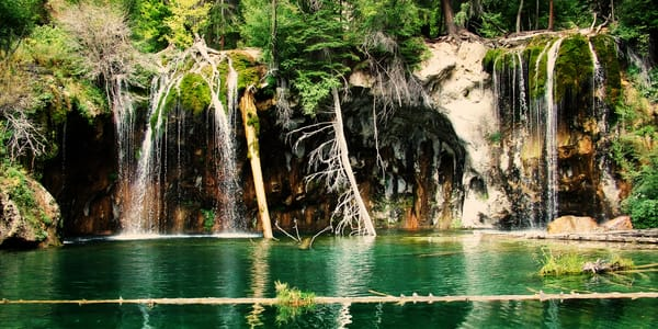 Hanging Lake Semi Panorama Photography Art | Ken Smith Gallery