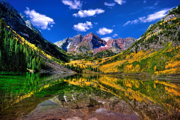 Maroon Bells Fall Colors Photography Art | Ken Smith Gallery