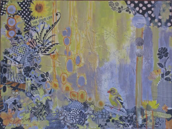 """Print Of """"Create Dreams"""" Art   Jennifer Ferris"""