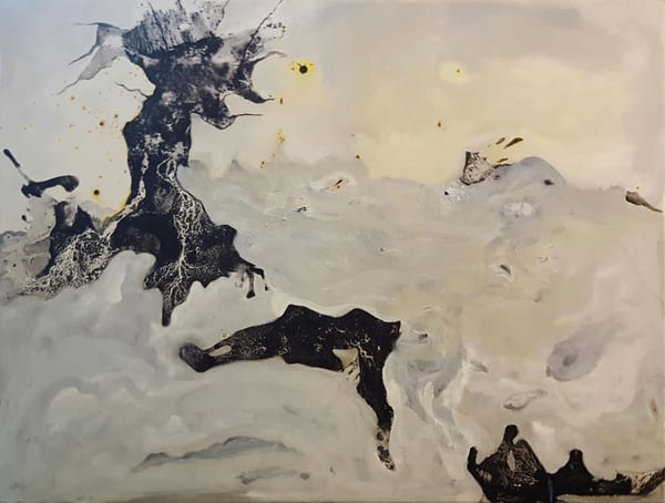 Winter Storm Surge Art   Scheihagen Art