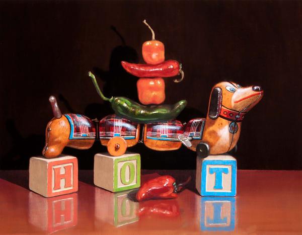 Hot Dog Art | Richard Hall Fine Art