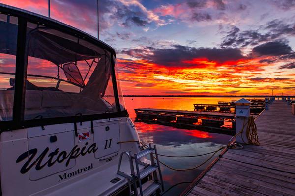 Sunrise Utopia - Lake Champlain fine-art photography prints